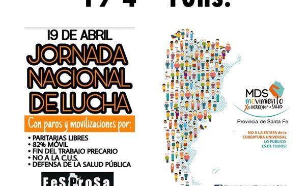 Siprus desobliga y moviliza al Nodo Salud Rosario