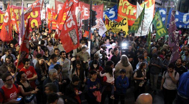 Rosario repudió la represión en Pepsico y Barrio Toba