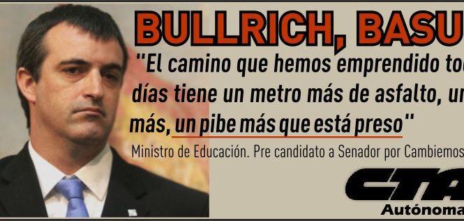 Bullrich, basura