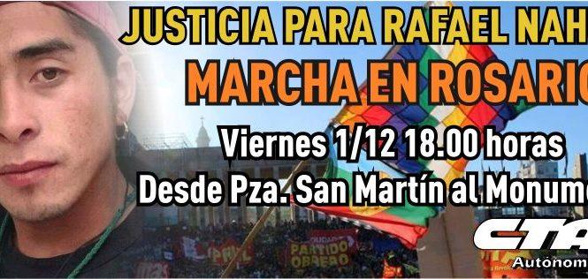 Verdad y Justicia por Rafael Nahuel y Santiago Maldonado