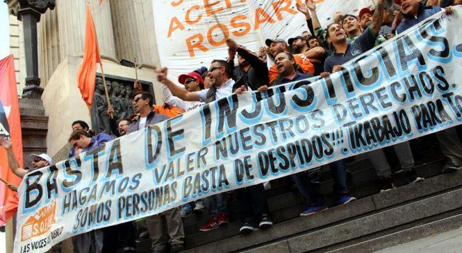 """Conflicto en Cargill: """"No cedemos ni salario, ni convenio, ni ningún compañero en la calle"""""""