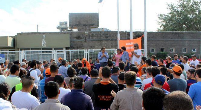 La solidaridad de clase se expresó en la asamblea unitaria en Cargill