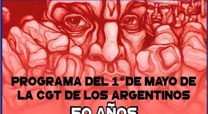 Campaña de memoria y difusión a 50 años del Manifiesto de la CGT de los Argentinos