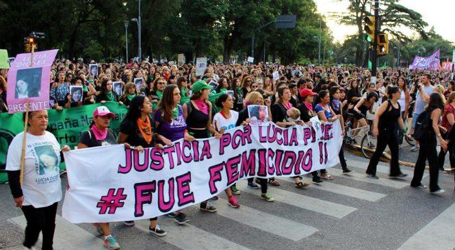 La lucha por justicia por Lucía, paritarias y derechos laborales copó las calles rosarinas