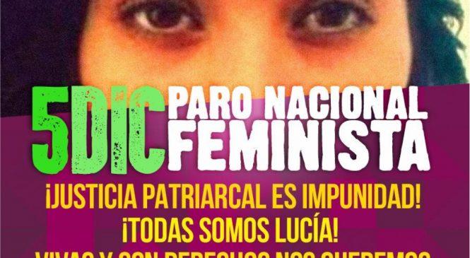 5D: Paro Feminista por Justicia para Lucía Pérez