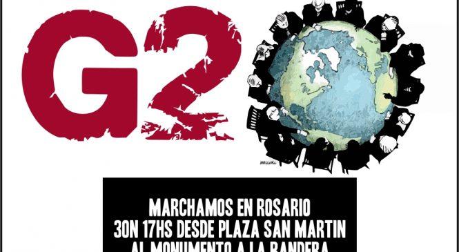 Declaración de la CTAA Rosario ante la Cumbre del G20