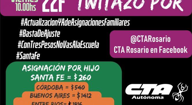 Twitazo por #ActualizacionYAdeAsignacionesFamiliares en Santa Fe