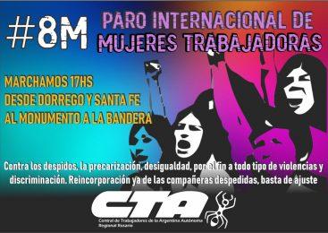 #8M: paramos y nos movilizamos