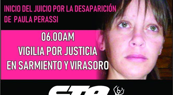 Vigilia por Justicia para Paula Perassi