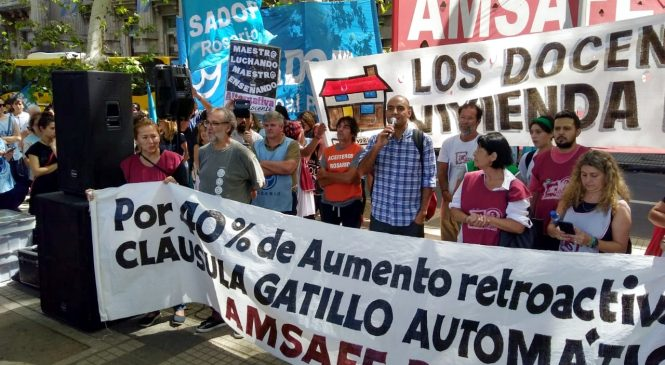 """Terés: """"El gobierno no debe especular con la necesidad de los trabajadores"""""""