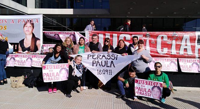 Histórico inicio del juicio por la desaparición de Paula Perassi