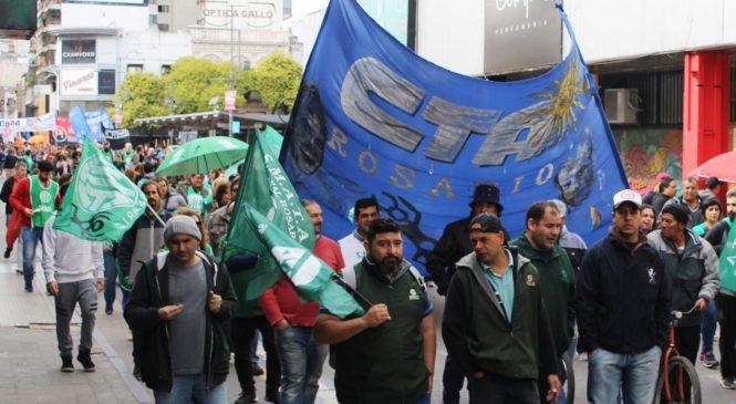 29A: el paro será con movilización en Rosario