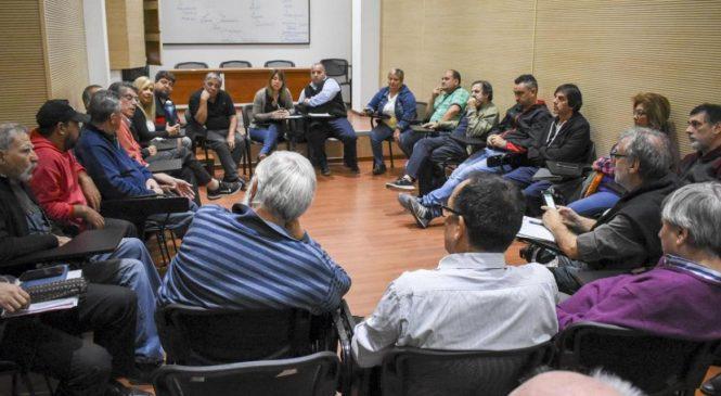Reunión multisectorial de cara al gran paro nacional