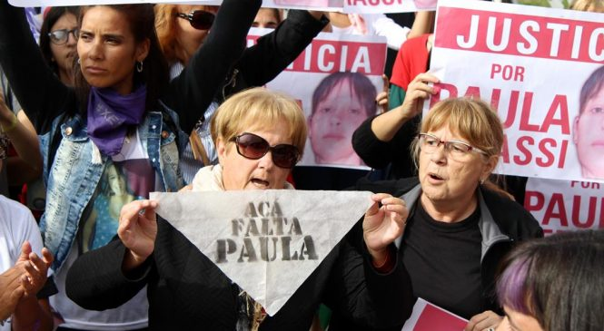 Exigimos la televisación de la confirmación de la sentencia en el juicio por Paula Perassi