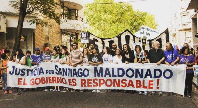 A dos años de la desaparición de Maldonado: memoria, verdad y justicia
