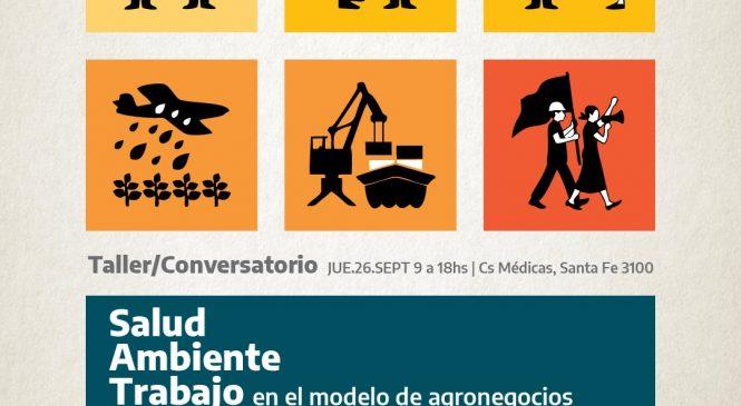 Trabajo, ambiente y modelo productivo en debate