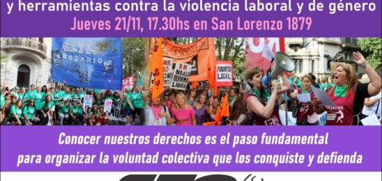 Conversatorio sobre el Convenio 190 de la OIT y herramientas contra la violencia laboral