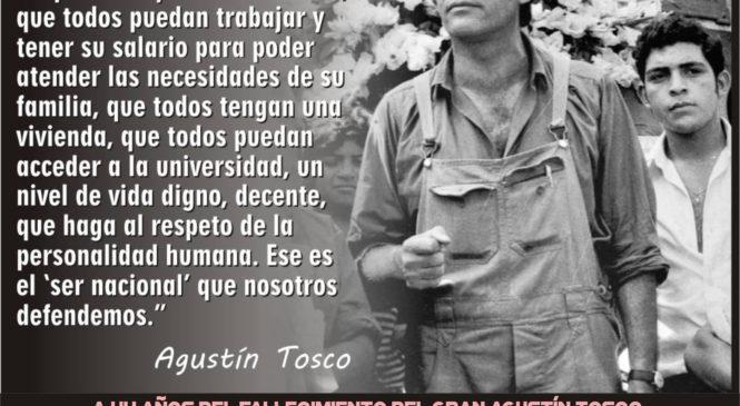 44 años del fallecimiento de Agustín Tosco