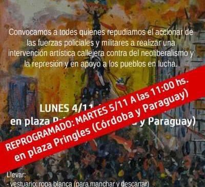 Todes somos Chile: Convocatoria a intervención artística