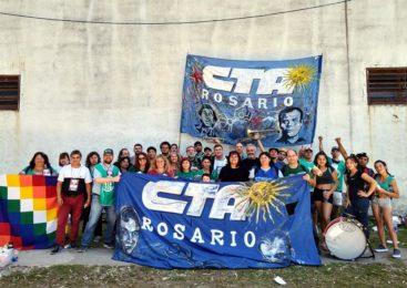 La CTAA Rosario en el Congreso Nacional de la Central