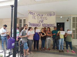 Solidaridad con trabajadores y trabajadoras del Área Salud y Trabajo