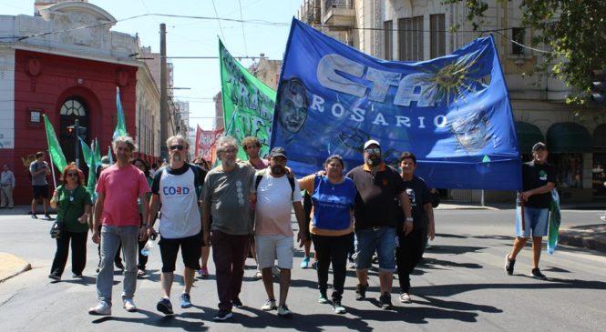 CTAA Rosario en mesa de unidad gremial ante la crisis sanitaria