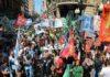 La deuda es con el pueblo: imponente marcha en Rosario