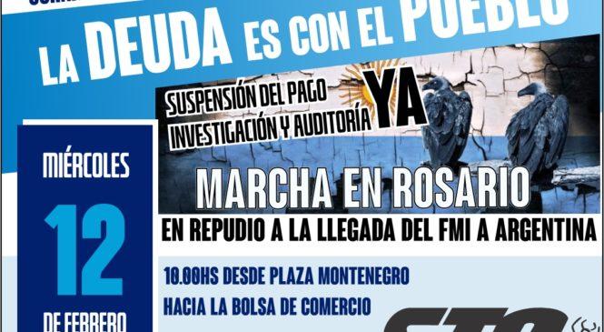 FMI o Pueblo: marchamos este 12 de febrero