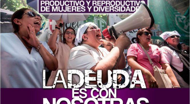 9M: CTAA convoca a Paro de Mujeres y Disidencias