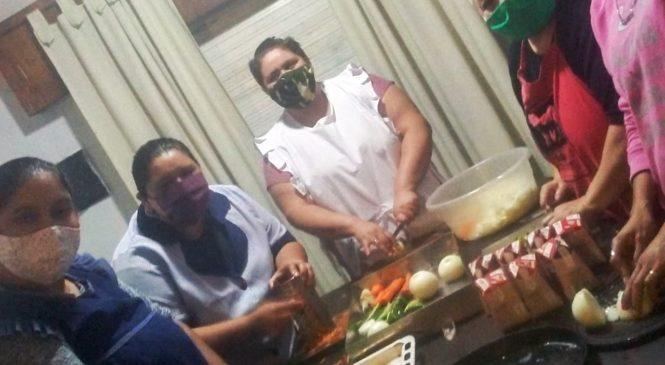 Jornada nacional: Mil Ollas con alimentos, solidaridad y resistencia