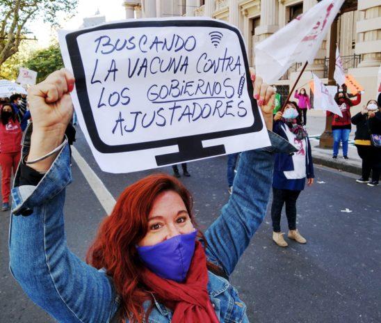 Gremios estatales en pie de lucha: paros, asambleas y denuncias