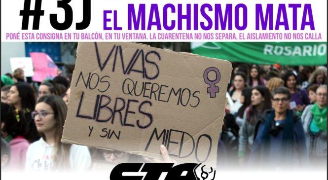 #3J: Adentro y afuera, el machismo mata