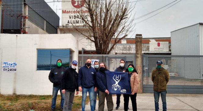 La CTAA Rosario se manifestó en solidaridad con los trabajadores de TRENTO