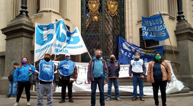 Unidad y solidaridad en una nueva jornada de lucha