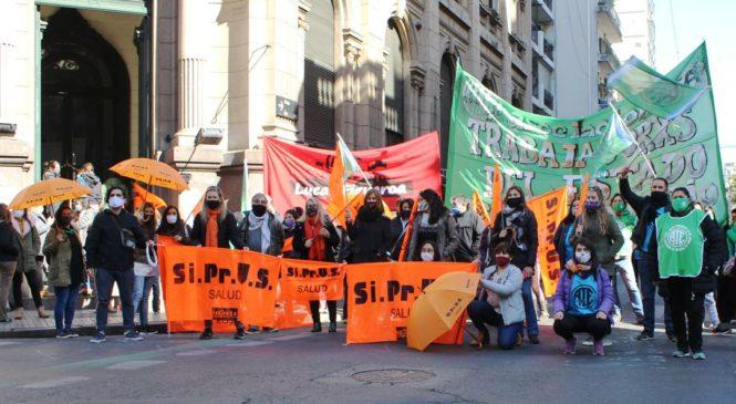 Nueva protesta unitaria ante el abandono estatal