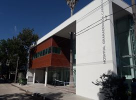 San Lorenzo: abrazo simbólico al Hospital Granaderos a Caballo