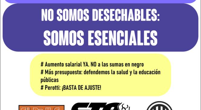'Guardapolvazo' en Gobernación: ¡somos esenciales!