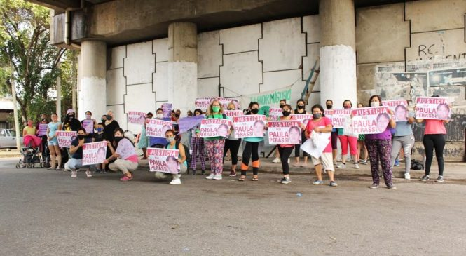 Mujeres en los barrios contra la violencia