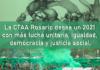 La CTAA Rosario desea un 2021 con más lucha unitaria, igualdad, democracia y justicia social