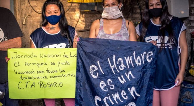 Mil Ollas contra el hambre en Rosario