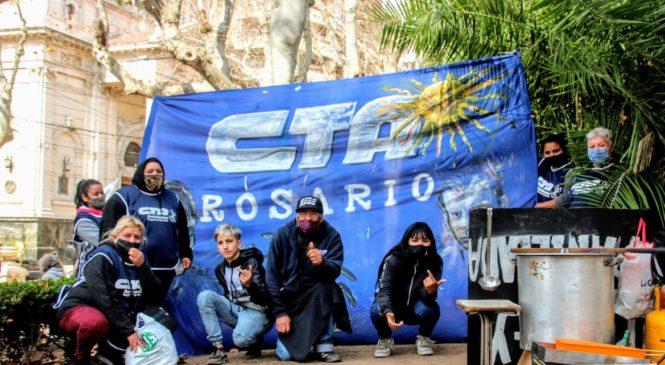 El Hormiguero- CTAA protestó y logró avances para los barrios