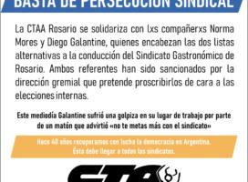 Violencia en Gastronómicos: 'no te metas más con el sindicato'