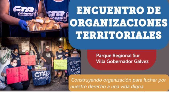 Encuentro de organizaciones territoriales